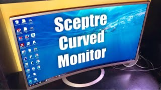 Sceptre C325W-1920R 32-Inch, Curved, Ultra Thin, Brushed Metallic, 1080P LED Monitor review