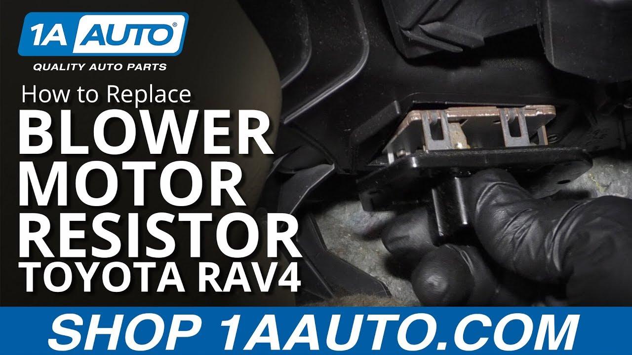 Blower Motor Resistor TOYOTA COROLLA