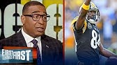 Cris Carter thinks New England is a viable landing spot for Antonio BrownNFLFIRST THINGS FIRST