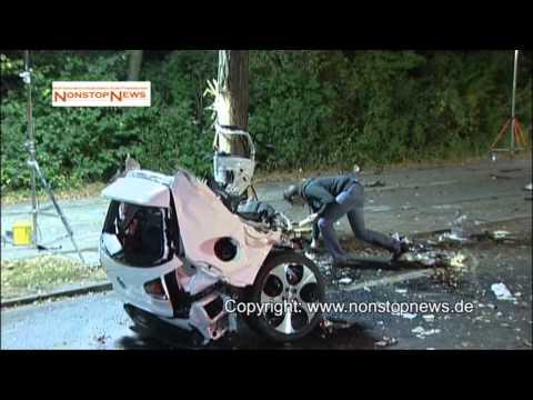 Horrorunfall mit nagelneuem Golf GTD in Wolfsburg