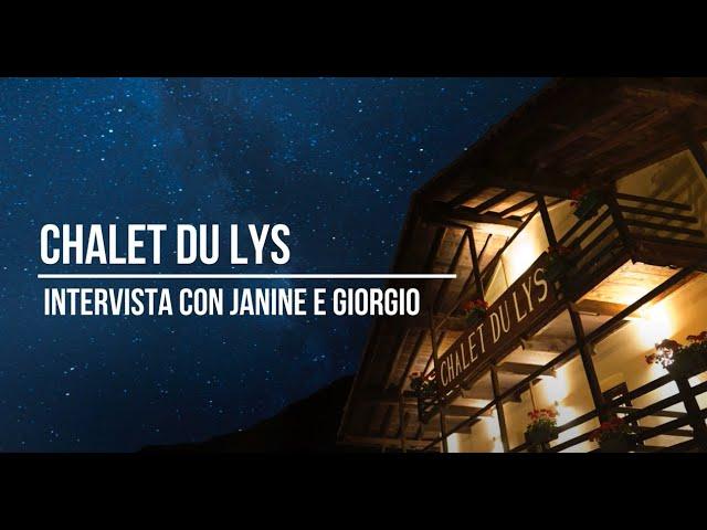 Intervista a Janine e Giorgio dello Chalet Du Lys Hotel & SPA [LaBaita Magazine]