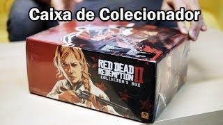 UNBOXING - Edição de Colecionador de RED DEAD REDEMPTION 2
