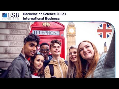 Bachelor of Science International Business