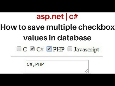 c# save selected multiple checkbox values sql server with jquery
