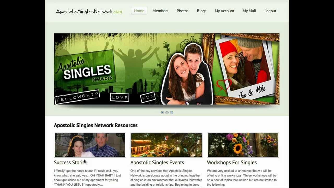 Apostolic singles network login