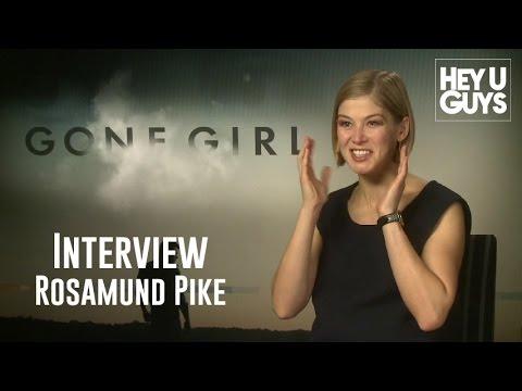 Rosamund Pike Interview - Gone Girl