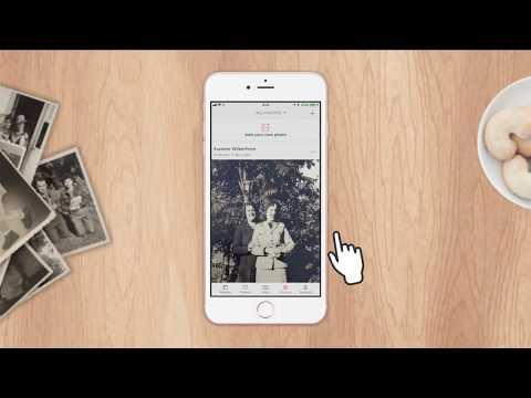 How to share Photomyne photos to