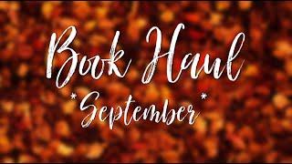 Book Haul l Септември