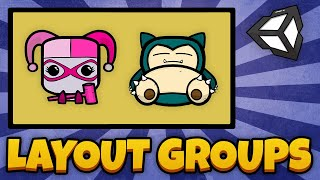 Thumbnail for 'How to use Layout Groups in Unity'