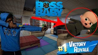 Defeating The Boss Baby *GONE WRONG* (DON'T TRY!!!)