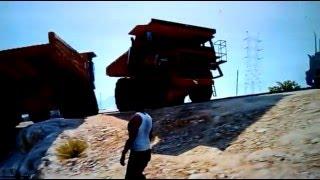 GTA5 - Dump truck versus train