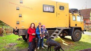 Familie will im Expeditionsmobil auf Weltreise