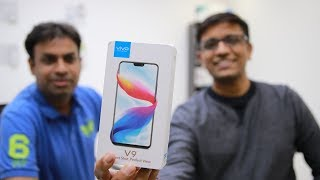 VIVO V9 Unboxing & First Impressions with GeekyRanjit - GIVEAWAY 🔥🔥🔥