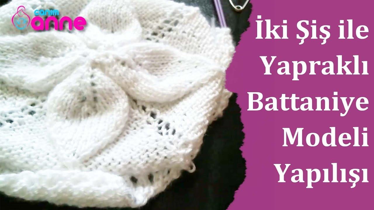Kabarık Yapraklı Bebek Battaniyesi Örgü Modeli Yapılışı Videolu Anlatımlı 55