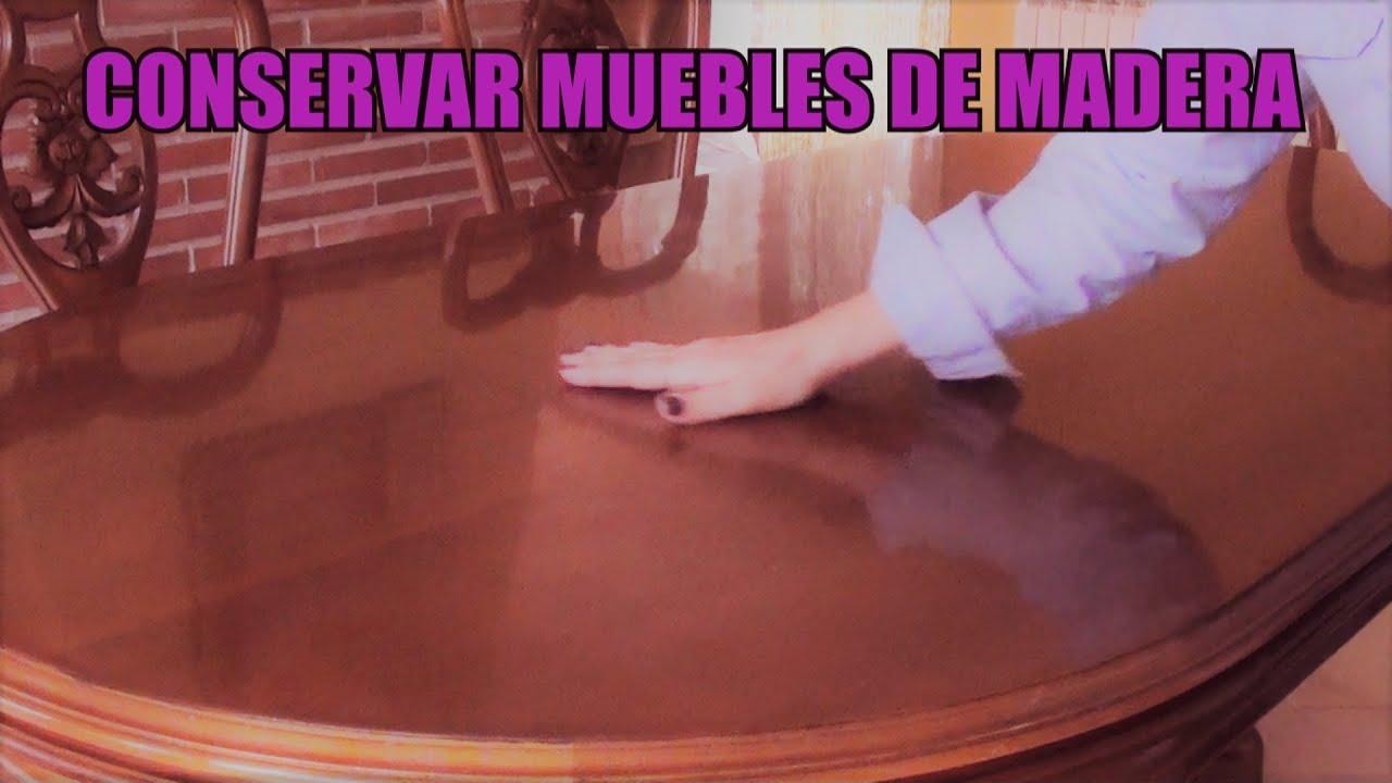 CÓMO LIMPIAR MUEBLES DE MADERA | Recuperando el brillo en muebles ...