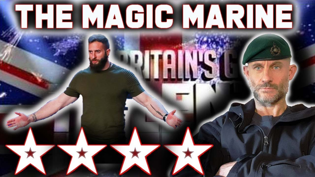 The Magic Marine Britain S Got Talent 2020 Bgt A Tribute From A Royal Marines Commando Youtube