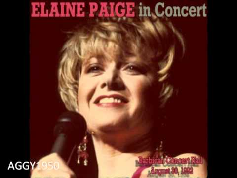 Elaine Paige in Concert (Barbican Concert Hall, 30.08.1992)