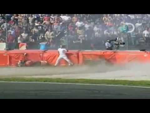 WORLD'S WORST- MOTORCYCLE CRASH! This guy is lucky to be alive