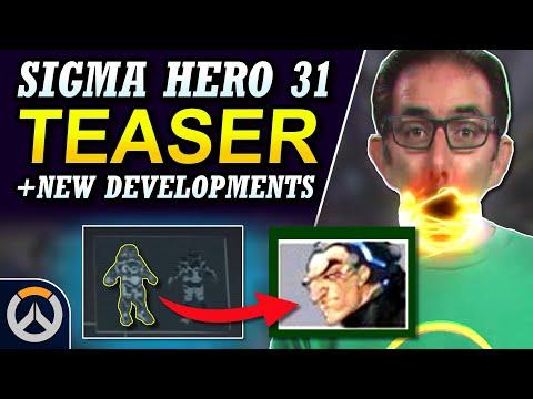 NEW TEASER & DETAILS! - Overwatch Hero 31 Sigma Teaser & Clues