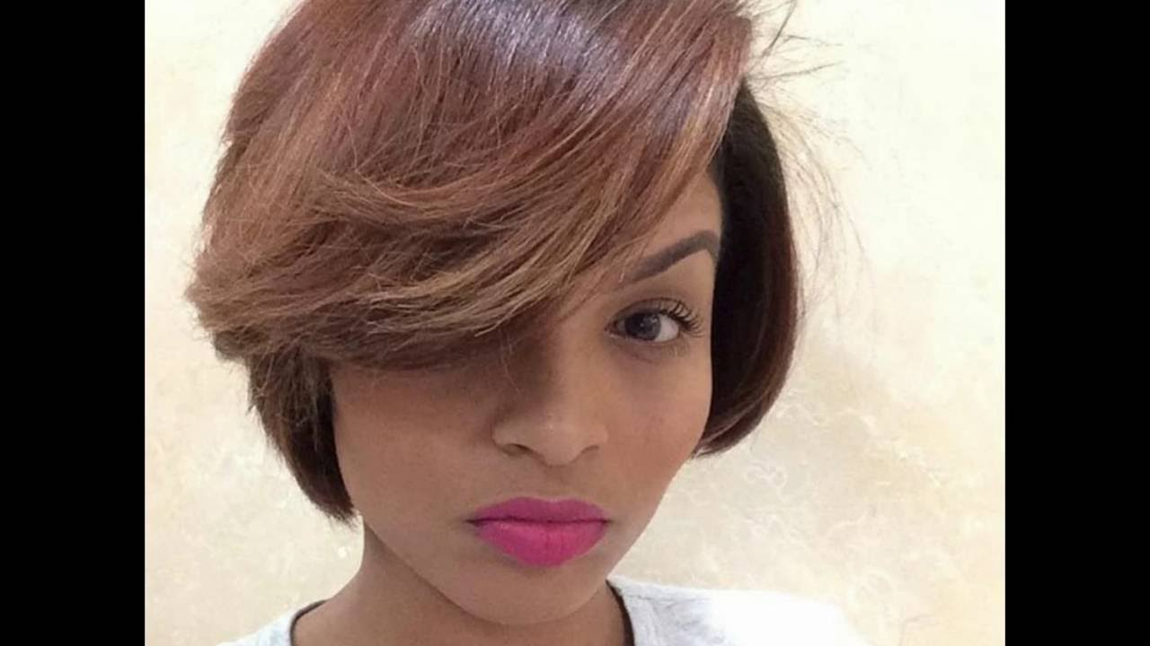 Cute Short Hairstyles For Black Women । 50 Great Short Hairstyles ...