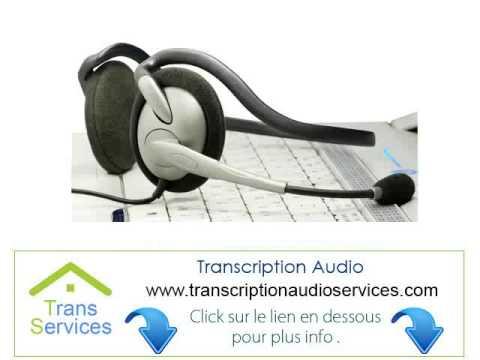 offshore Agence de Transcription Texte En Audio