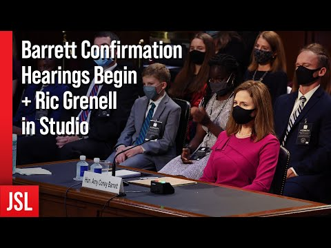 Barrett Confirmation Hearings Begin + Ric Grenell in Studio