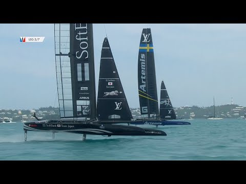 Day Six - America's Cup Qualifiers // SoftBank Team Japan