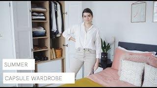 Making My Summer Capsule Wardrobe | The Anna Edit