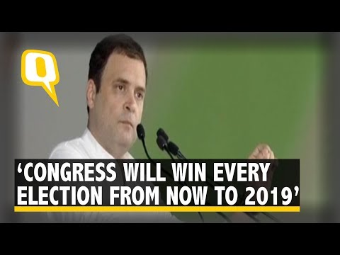 Jan Aakrosh Rally: Rahul Gandhi Asserts Congress Will Win All Elections From Now to 2019 | The Quint