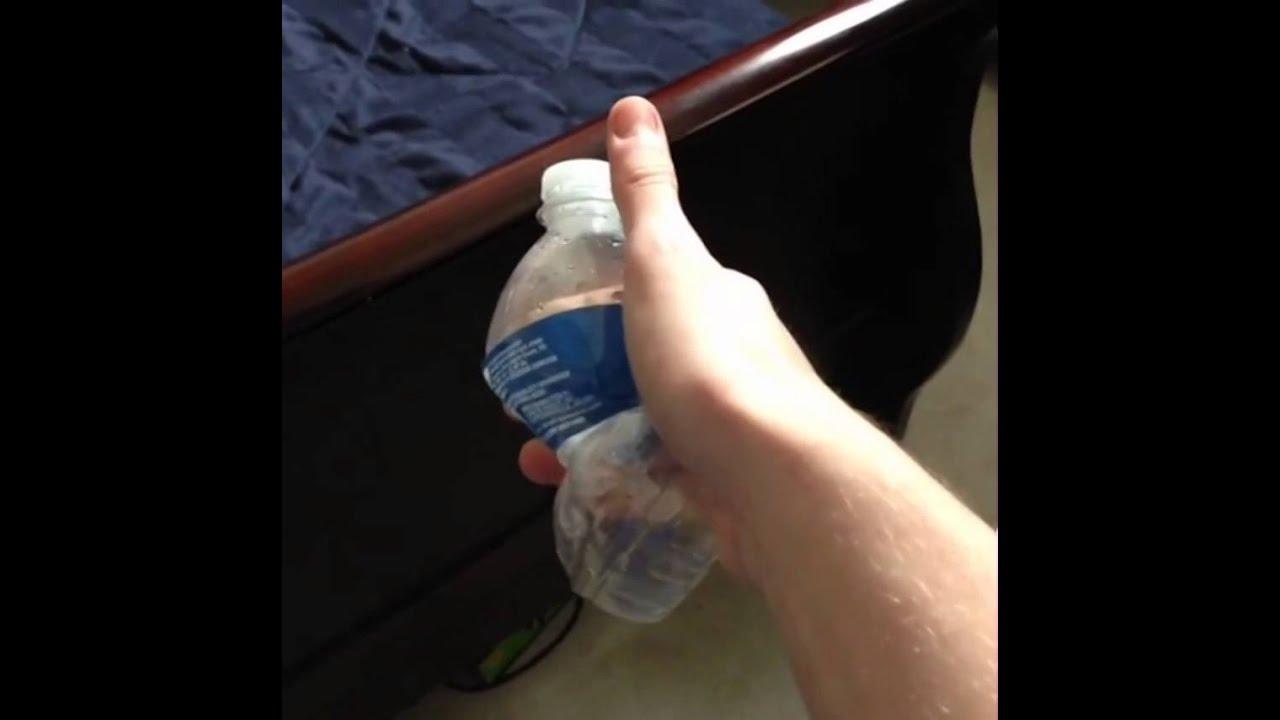 Water Bottle Quarter Prank: EPIC Water Bottle Gun/Ammo PRANK On Badass Grandma
