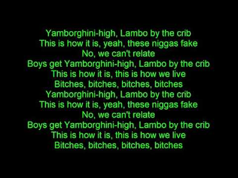 ASAP Rocky   Yamborghini High Lyrics ft  ASAP Ferg