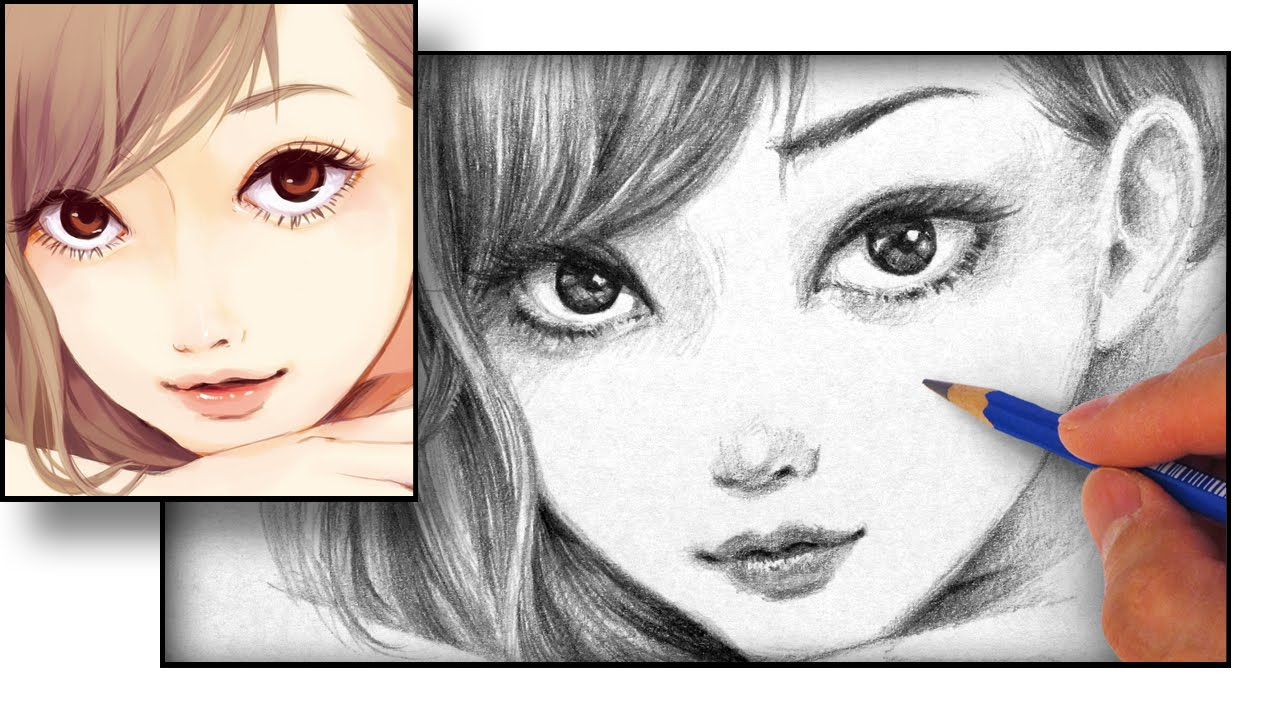 How to Draw an Anime Face YouTube