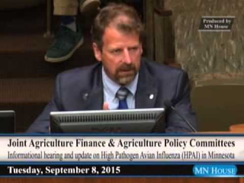 Joint meeting of the House Agriculture Finance and House Agriculture Policy committees
