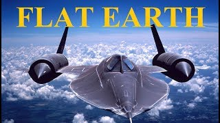 United States Air Force SR-71 pilot proves Flat Earth - Mike Helmick mirror ✅