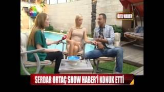 Serdar Ortaç Show Haber'i evine konuk etti