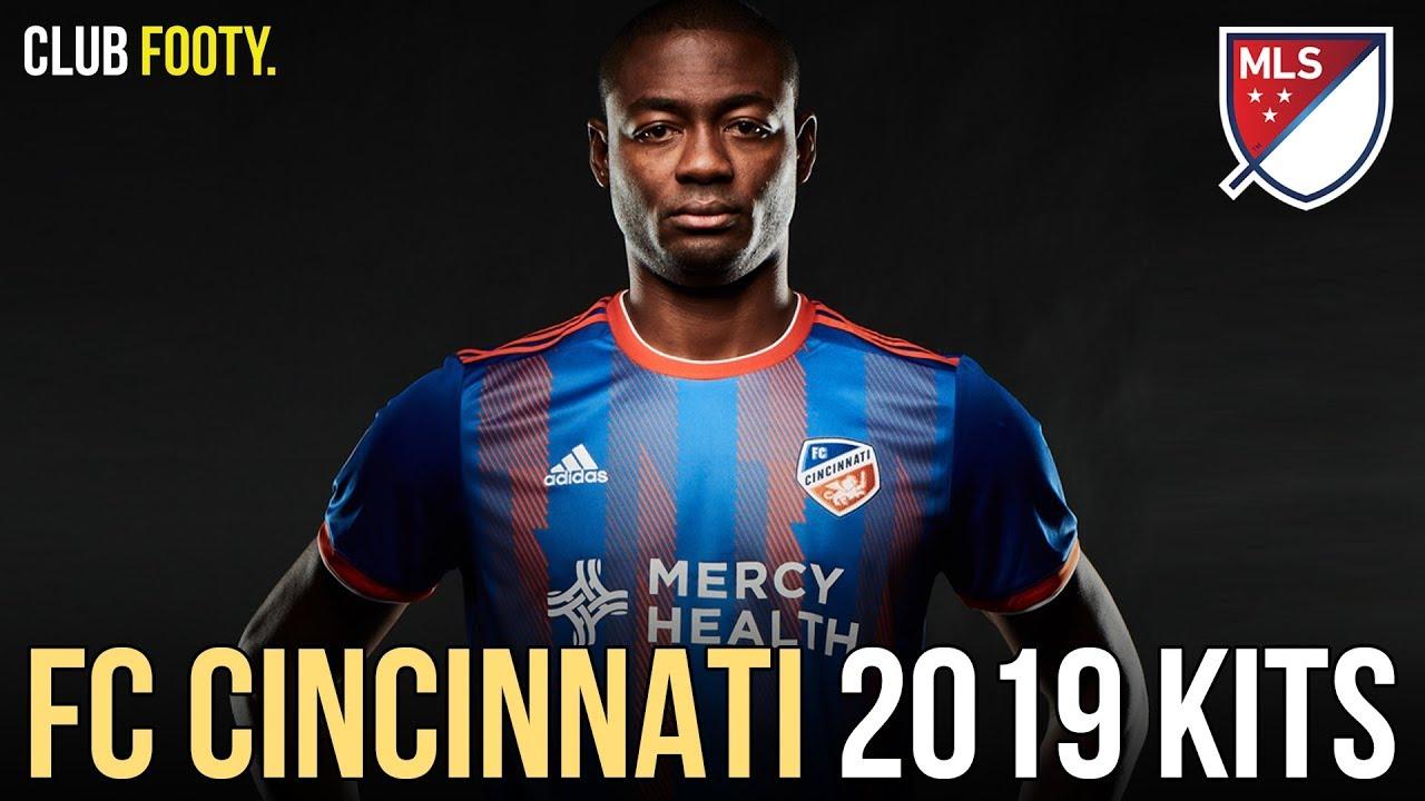 finest selection 0bb1a b1228 FC CINCINNATI UNVEIL DEBUT MLS 2019 KITS | REVIEW