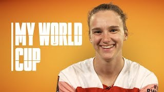 Vivianne Miedema answers questions on the 2019 FIFA Women's World Cup finals