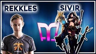 Rekkles - Sivir/Nami vs Tristana/Trundle «Boss» (Ranked Gameplay)