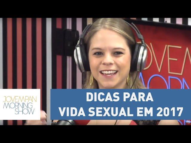 Paula Napolitano dá dicas para vida sexual em 2017 e aposta na criatividade | Morning Show