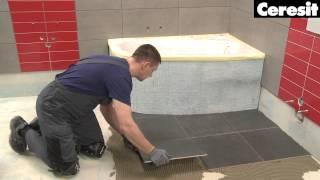 Виде инструкция по укладке плитки на старую облицовку(Вы узнаете, как сделать ремонт ванной комнаты, не удаляя старую плиточную облицовку. Это легкий и удобный..., 2015-06-29T07:11:35.000Z)