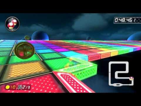 SNES Rainbow Road [150cc] - 1:29.130 - Cole (Mario Kart 8 Deluxe World Record)