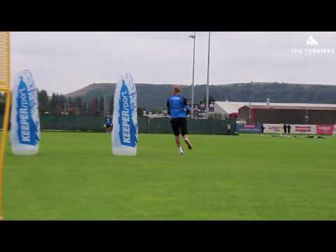 WATCH: Behind-the-scenes action from Goalkeeper training