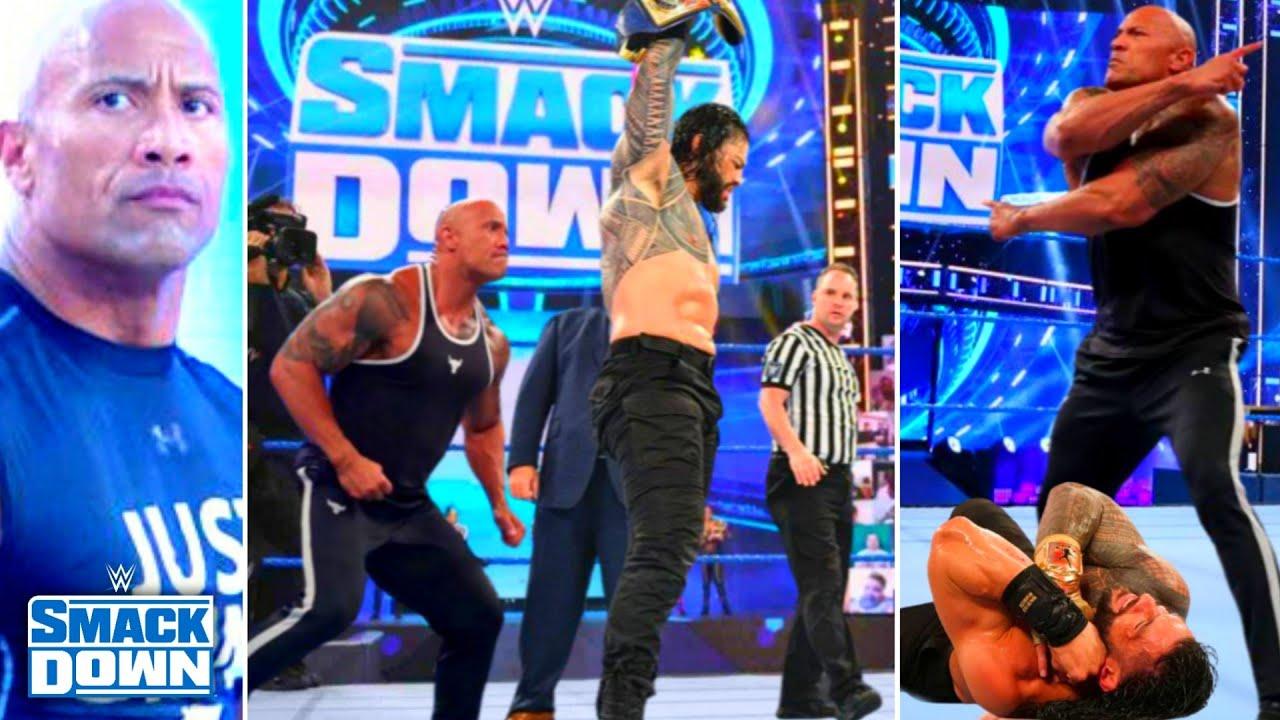 The Rock Returns & Attack Roman Reigns, Braun New Deal, Charlotte Quit,Joe, WWE SmackDown Highlights