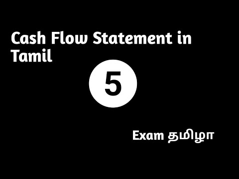 operating-activity-indirect-method---cash-flow-statement-in-tamil-part-v