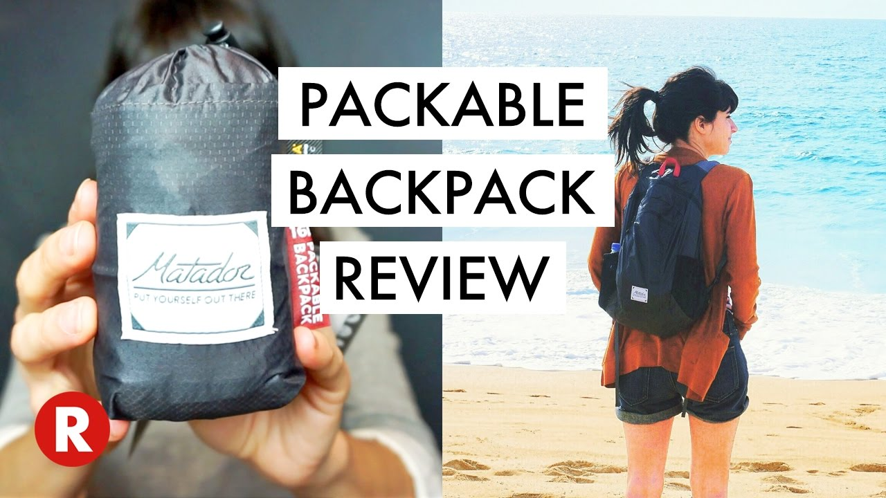 The Best Travel Backpack     Matador Review - YouTube efba5c3a9d8b8
