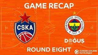 Highlights: CSKA Moscow - Fenerbahce Dogus Istanbul