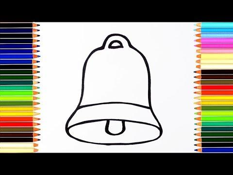 Как раскрасить колокольчик