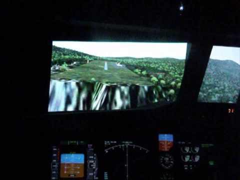 World Flight 2009 Extreme Approaches -  dangerous landing in NTMN Hiva Oa, French Polynesia