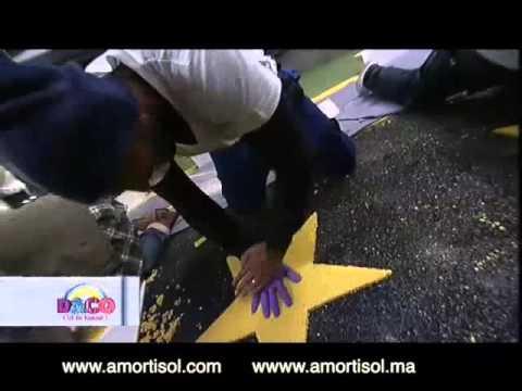 Omar Sy, Nicolas Anelka dans le premier sol souple boulevard au monde!!!!!