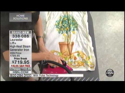 Kelly Diedring Harris presents the Laurastar Steam Generator on HSN; 8/17/14